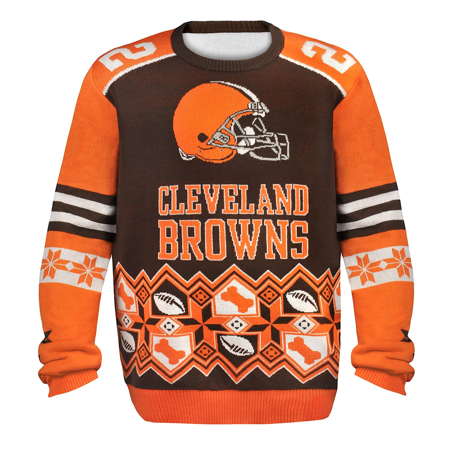 Amazon.com : NFL Player Name and Number Ugly Sweater : Sports ...