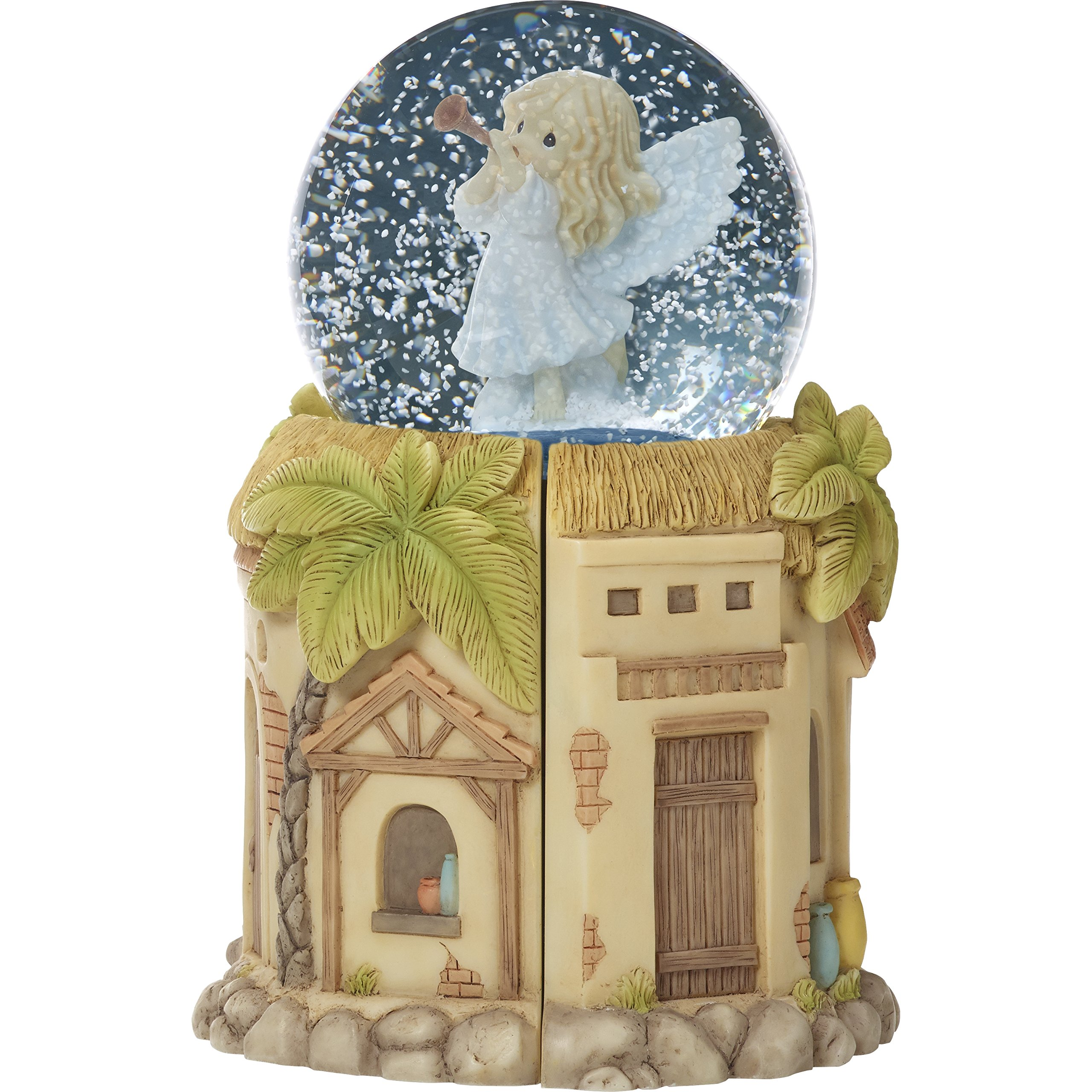 Precious Moments'' Come Let Us Adore Him Nativity LED Snow Globe with Blower, Multicolor