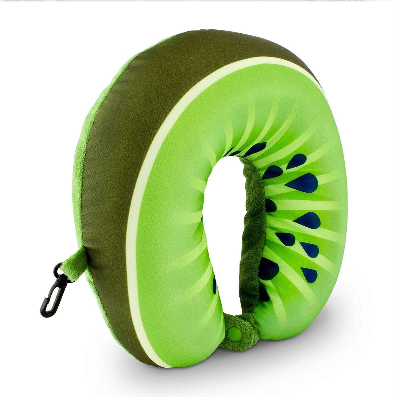 Travel neck pillow Kiwi design