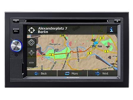 Blaupunkt BPSD530 Blaupunkt San Diego 530 DVD VCD CD-Player with Navigation Black