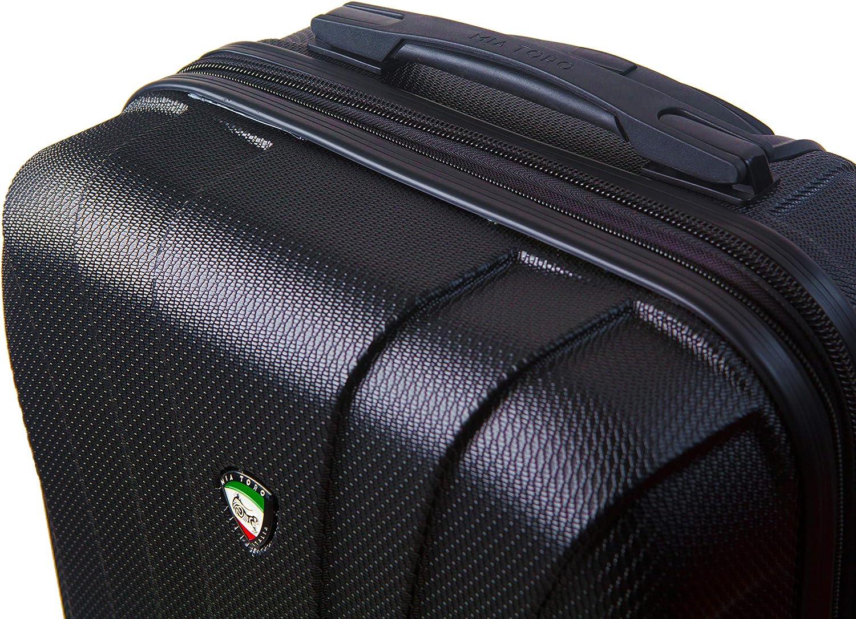 Mia Toro Italy Nicosia Hardside 28 Spinner Gold