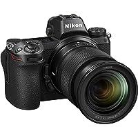 "Nikon Z6 + NIKKOR Z 24-70 F/4 S + FTZ Adattatore Fotocamera Mirrorless, CMOS FX da 24.5 MP, 273 Punti AF, Mirino OLED da 3.686k Quad VGA, Video 4K, LCD 3.2"", Nero [Nital Card: 4 Anni di Garanzia]"