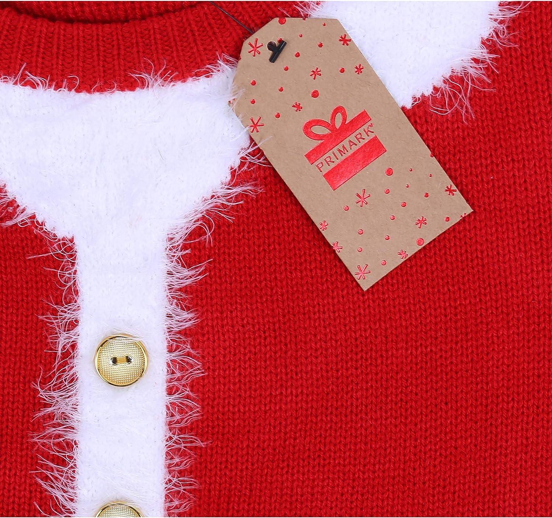 PRIMARK Oeko-Tex Vestido Rojo, Traje de Papá Noel: Amazon.es: Ropa ...