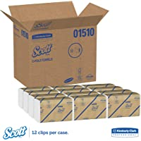 12-Pack Scott C-Fold Paper Towels (200 sheets per pack)