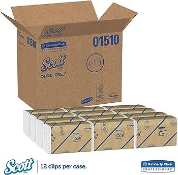 12-Pack Scott C-Fold Paper Towels
