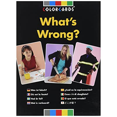 Speechmark Photo What's Wrong? Flashcards: Toys & Games