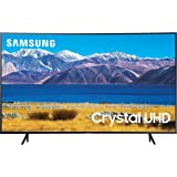 SAMSUNG 55-inch Class Curved UHD TU-8300 Series - 4K UHD HDR Smart TV With Alexa Built-in (UN55TU8300FXZA, 2020 Model)