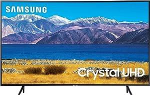 SAMSUNG 65-inch Class Curved UHD TU-8300 Series - 4K UHD HDR Smart TV With Alexa Built-in (UN65TU8300FXZA, 2020 Model)