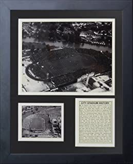 Legends Never Die'Green Bay Packers City Stadium' Framed Photo Collage, 11 x 14-Inch