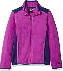 Starter Girls' Polar Fleece Jacket, Amazon Exclusive