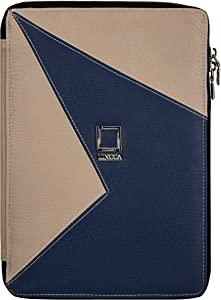 7 to 10.1 Blue Taupe Tablet Case Portfolio Cover for Acer Iconia A3 A30, A3 A20