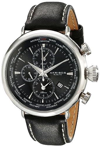 Akribos AK629BK - Reloj para hombres