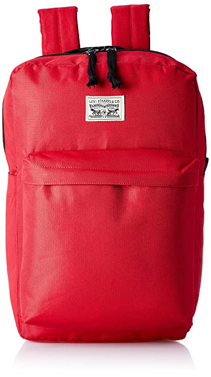 Levis Fabric 32 cms Red Backpack (38005-0013)