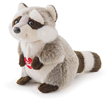 Trudi 15 cm Trudino Racoon Toy (Grey/Brown) by Trudi