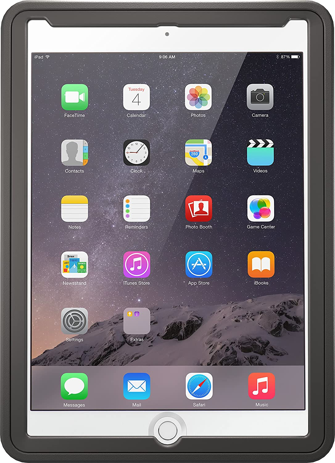 brand new 182ed e0d8e OtterBox Unlimited Series Case with Stand for iPad Air 2 - Non-Retail  Packaging - Slate Gray