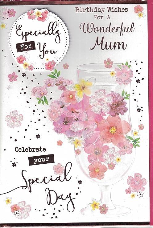 Madre Tarjeta de cumpleaños - para una mamá maravillosa ...
