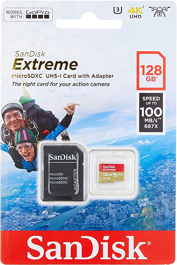 SanDisk Ultra 128GB MicroSDXC Verified for COWON D3 by SanFlash 100MBs A1 U1 C10 Works with SanDisk