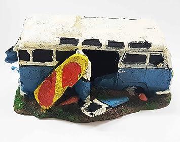 takestop autobús furgoneta Rocciosa Tabla Surf 16 x 10 x 9 cm Jardín Submarino Ornamento para Acuario decoraciones muebles piedra: Amazon.es: Electrónica