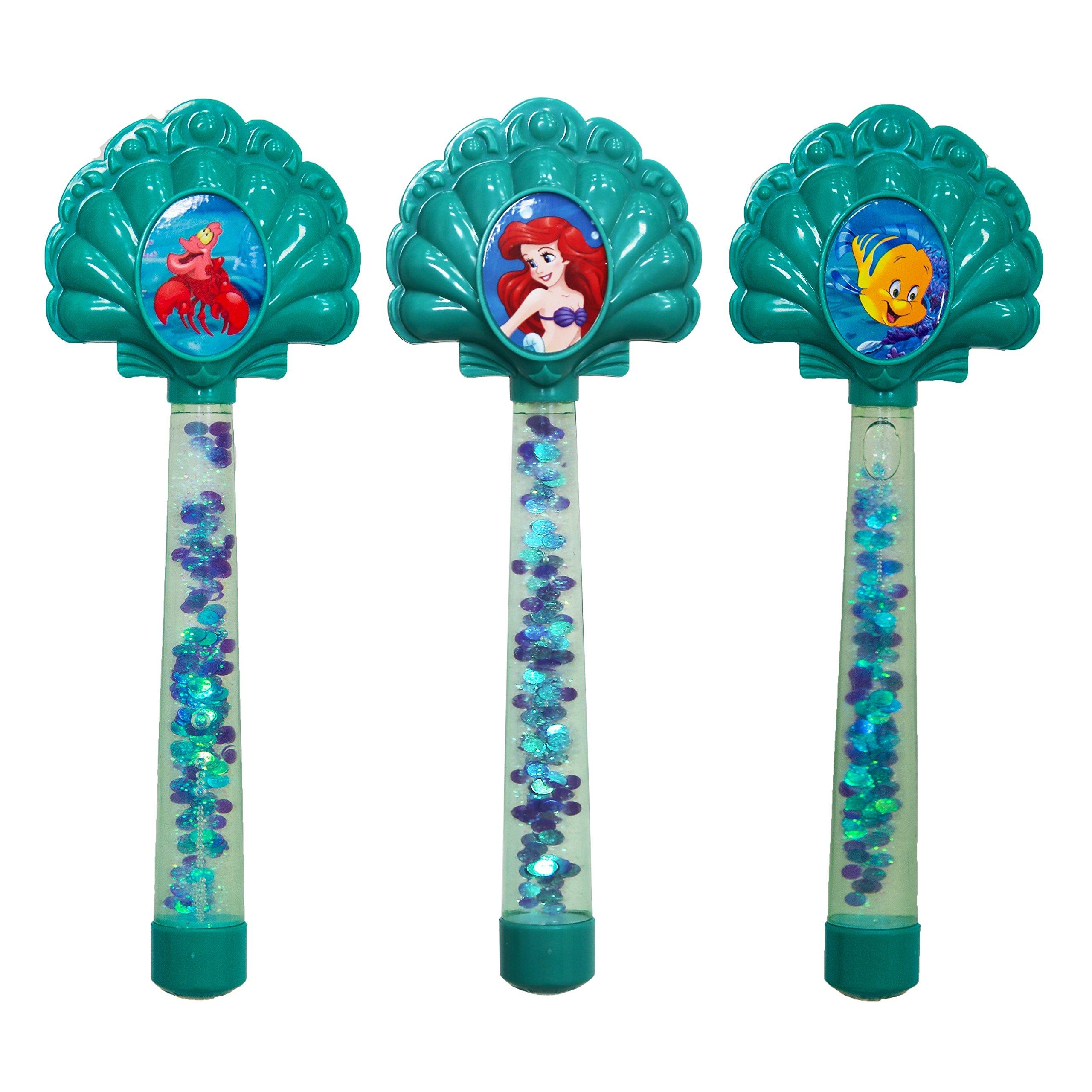 SwimWays Disney Princess Ariel Glitter Dive Wands - Pack of 3 by SwimWays