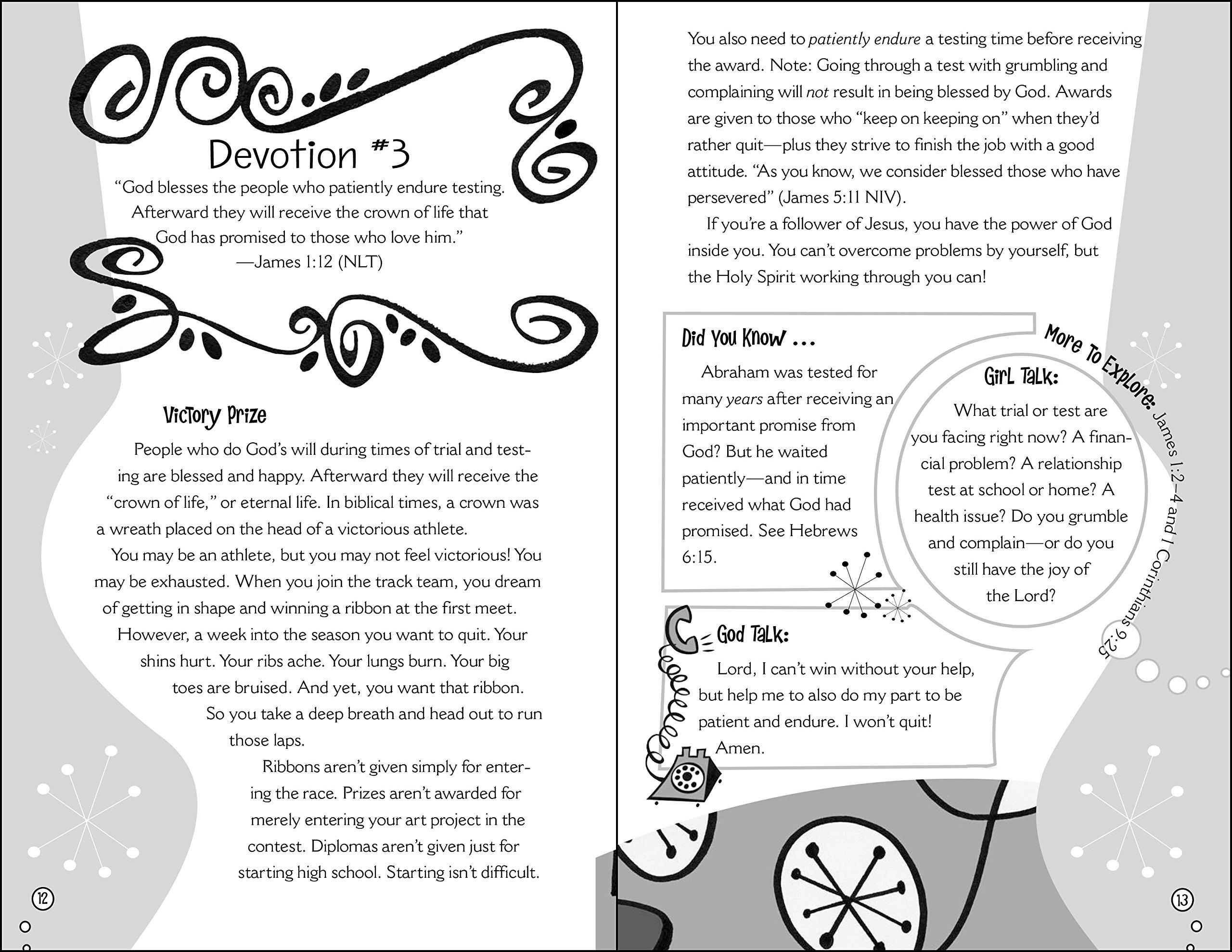 Chick Chat: 90-Day Devotional (Faithgirlz): Kristi Holl, Jennifer Vogtlin:  0025986711436: Amazon.com: Books
