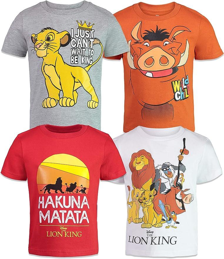 Jumping Beans Boys 4-10 Disneys The Lion King Simba Graphic Tee