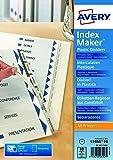 Avery IndexMaker - Separadores de plástico