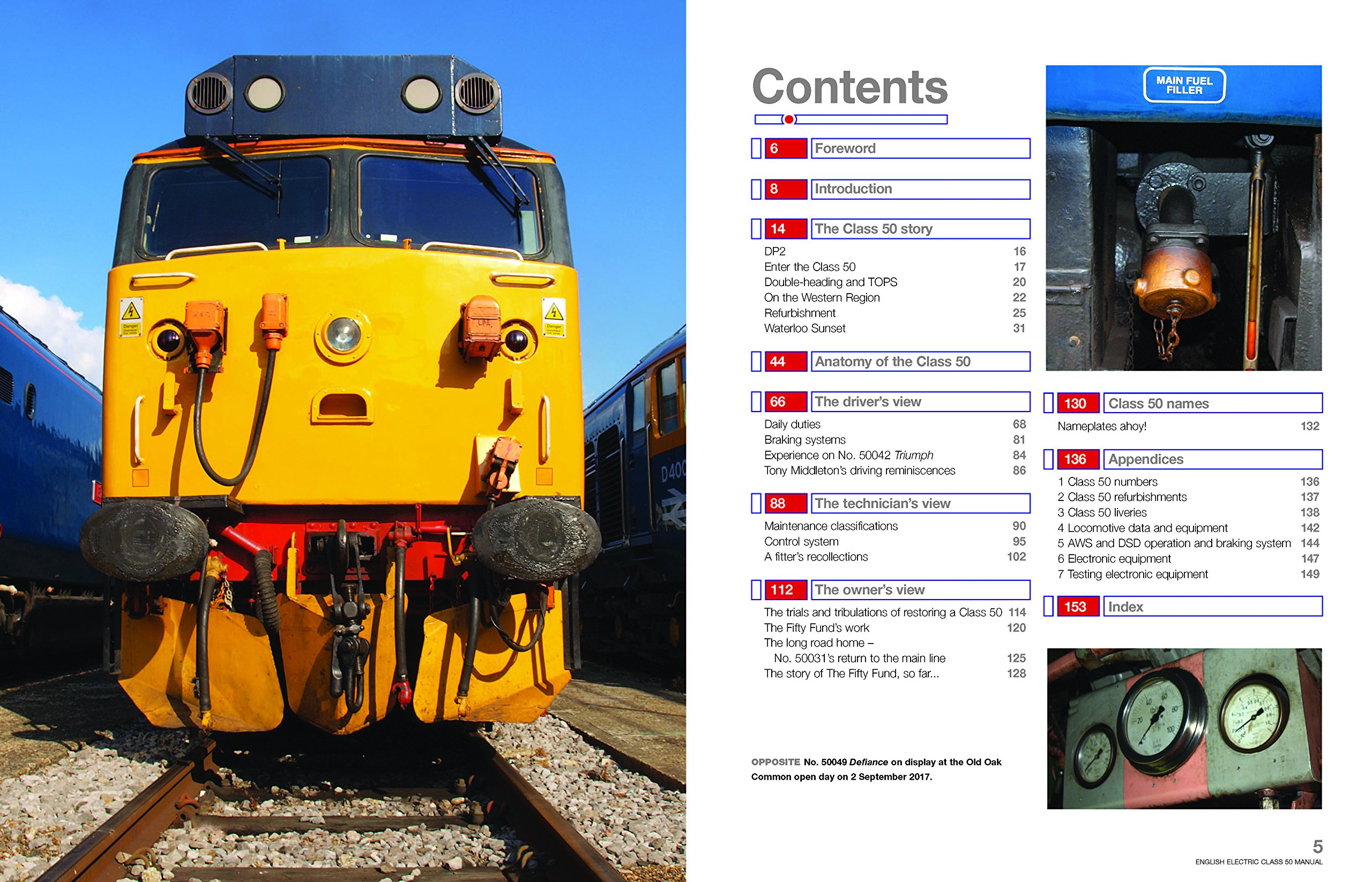 English Electric Class 50 Diesel Locomotive Manual (Owners' Workshop Manual):  Amazon.co.uk: Jarrod Cotter: 9781785210600: Books