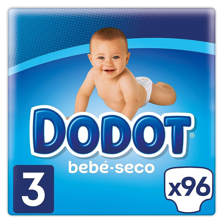 Dodot Pañales con Canales de Aire Bebé Seco Talla para Bebes de