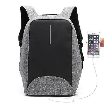 974ad7f9ad60 UBaymax Anti-diebstahl Laptop Rucksack mit USB Ladeanschluss