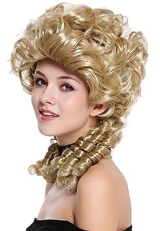WIG ME UP ® - DH1009-ZA89 Peluca señoras Mujer Carnaval Barroco Renacimiento Romanticismo menina