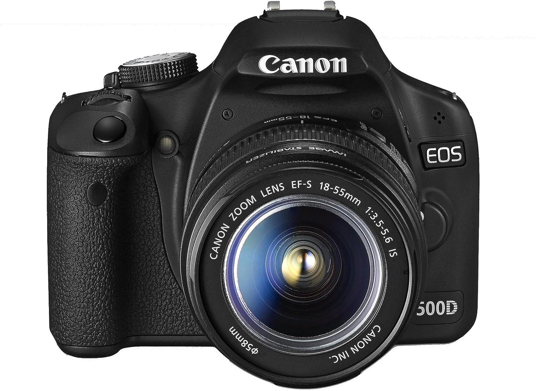 Canon EOS 500D - Cámara Réflex Digital 15.1 MP (Objetivo EF-S 18 ...