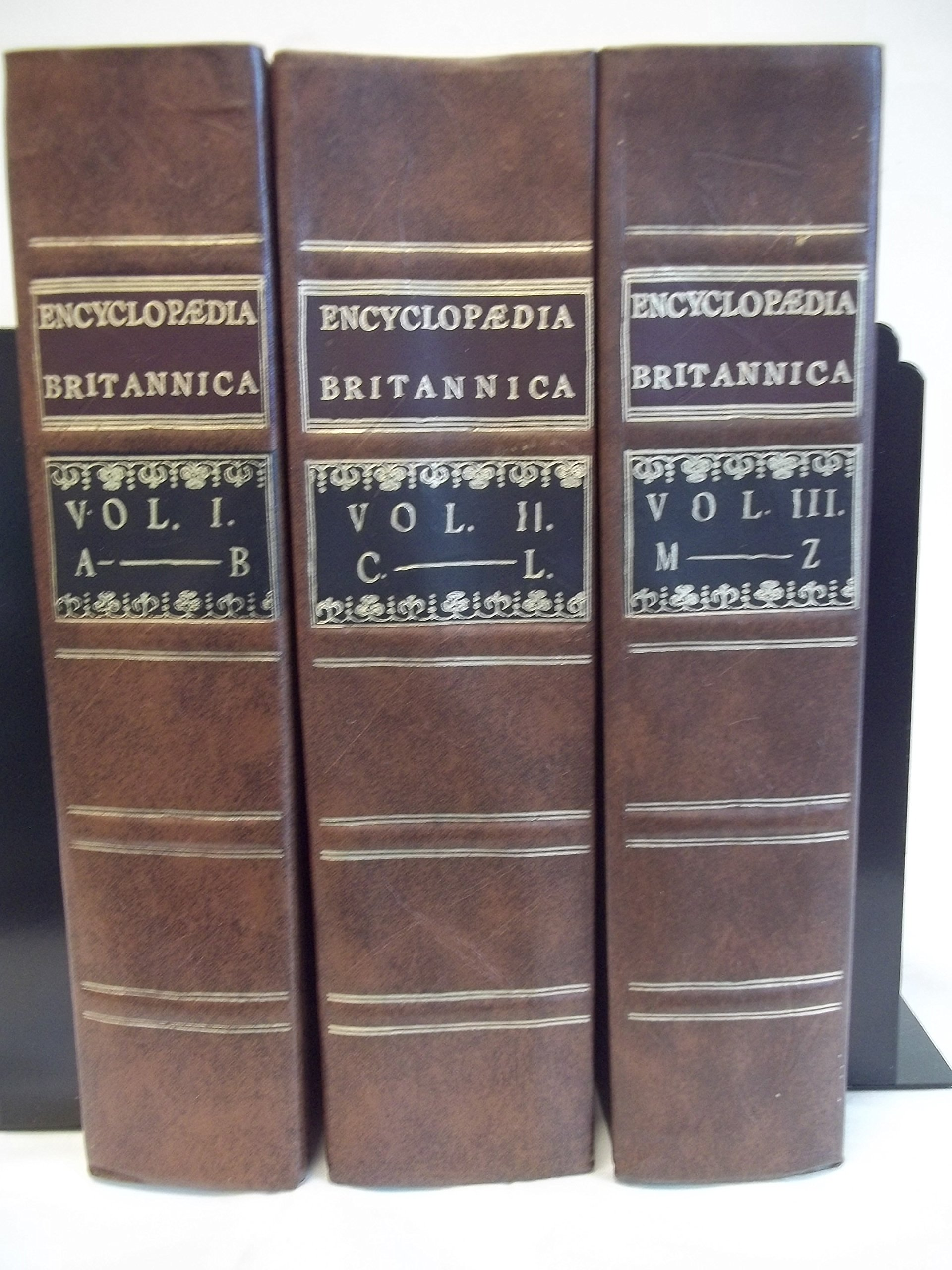 encyclopedia britannica facsimile first edition ( volumes  - encyclopedia britannica facsimile first edition ( volumes) editorencyclopediabritannica  amazoncom books