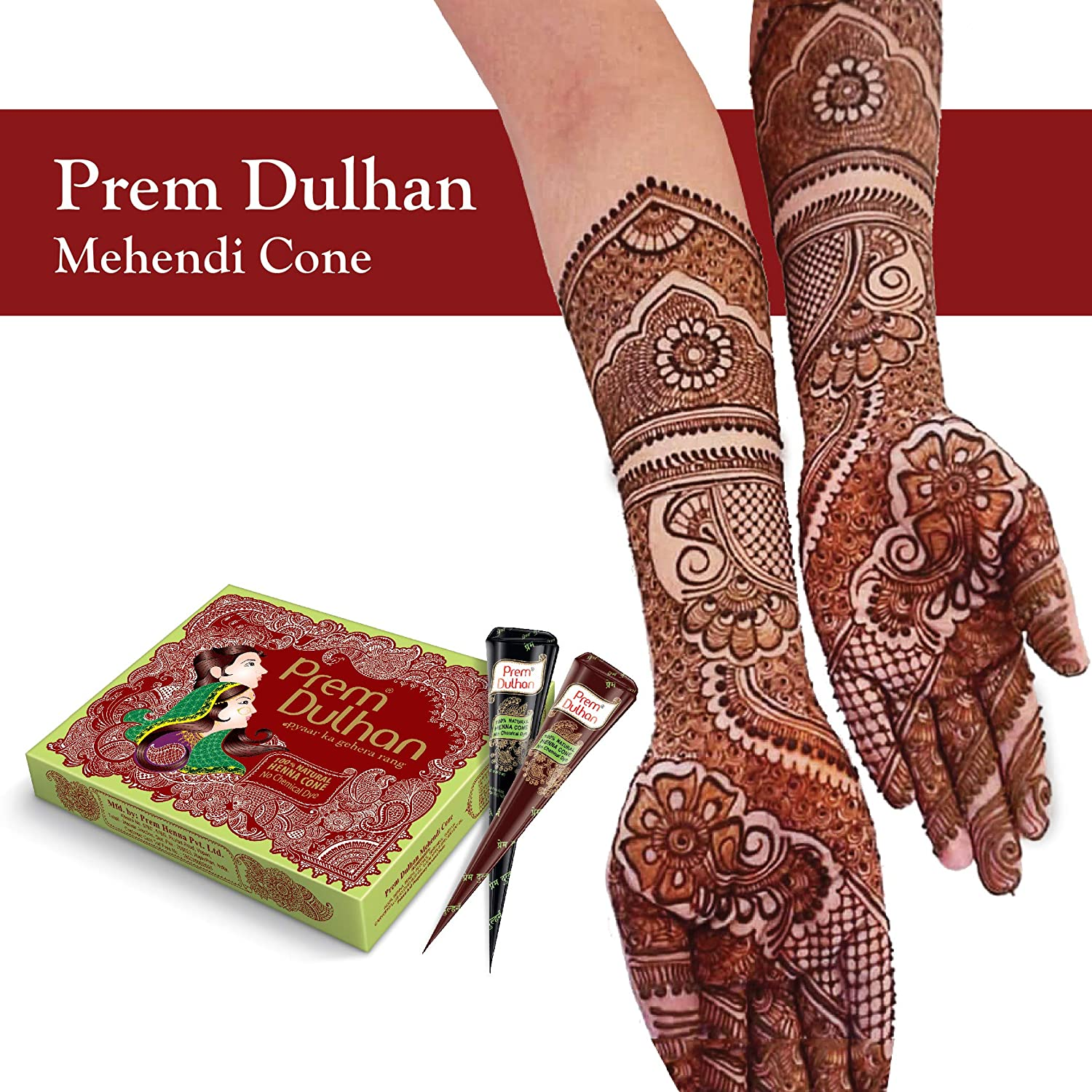 d9d26f9faafb1 Buy Prem Dulhan Mehendi Cone Online at Low Prices in India - Amazon.in