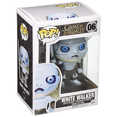 Funko POP Game of Thrones: White Walker Vinyl Figure: Funko Pop! Television:: Toys & Games