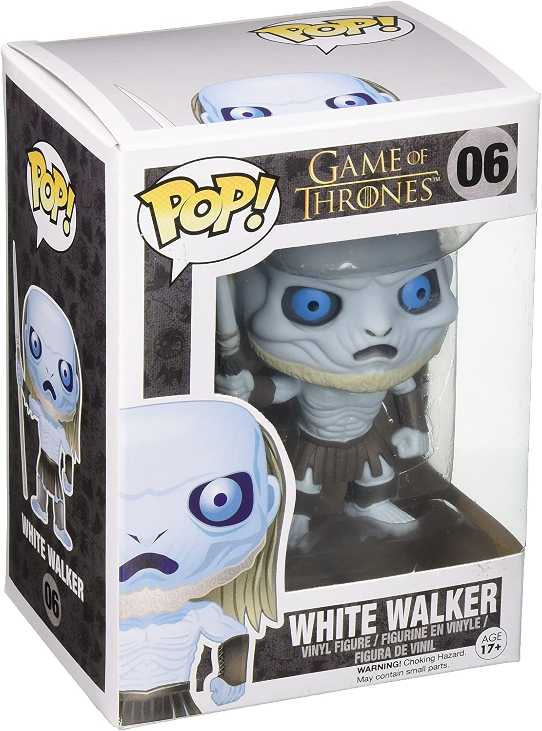Funko Pop! - Vinyl: Game of Thrones: White Walker (3017): Funko Pop! Television:: Amazon.es: Juguetes y juegos