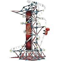 Deals on KNEX Thrill Rides Web Weaver Roller Coaster Building Set 439 Pc