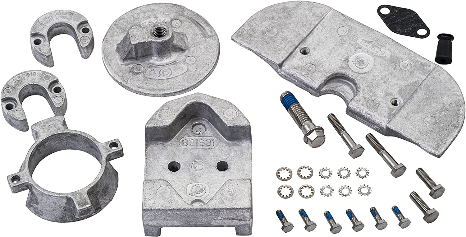 Quicksilver 888756Q03 Aluminum Anode Kit - Alpha One Gen II Drives