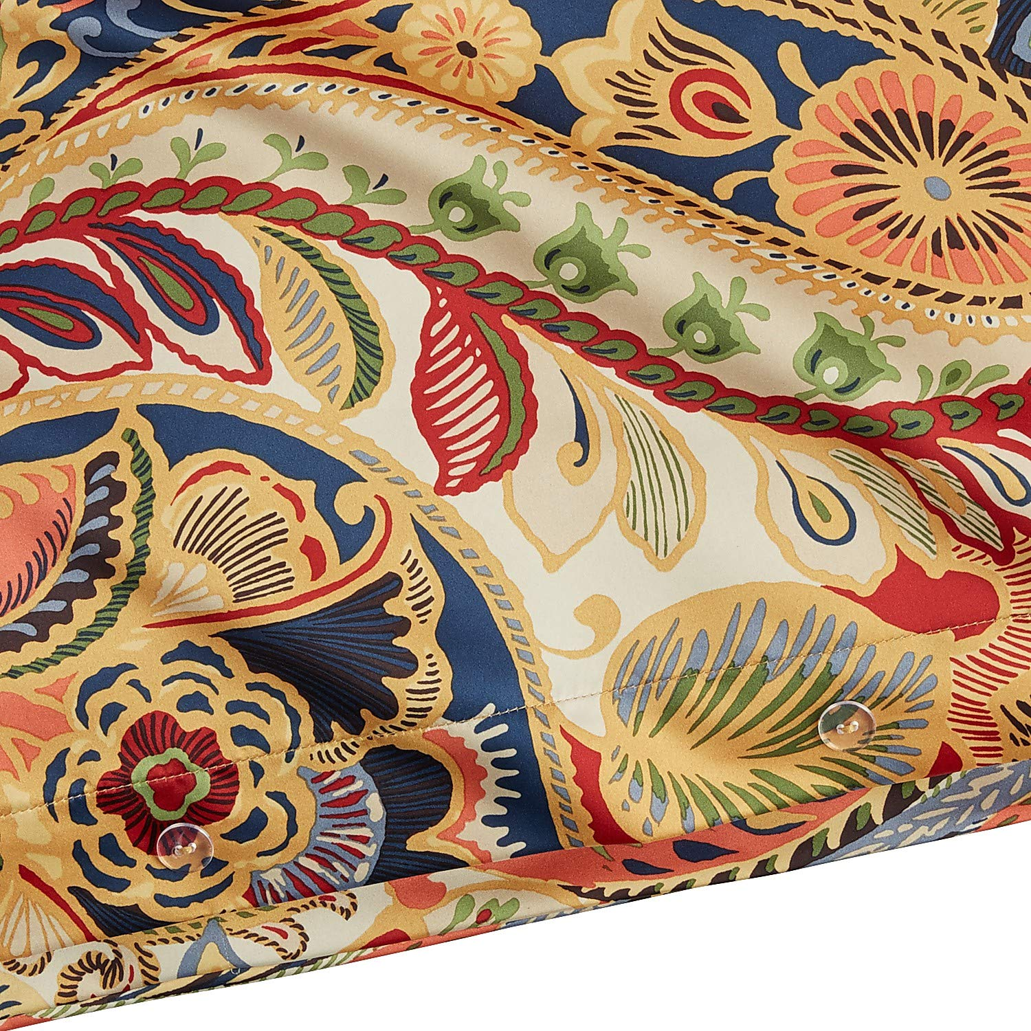 Pier 1 Imports Vibrant Paisley Full/Queen Size Bed Duvet Cover by Pier 1 Imports