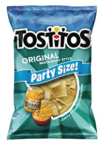 Tostitos Original Restaurant Style Tortilla Chips, Party Size! (18 Ounce)