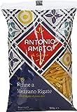 Antonio Amato - Penne A Mezzano Rigate N 95, Pasta Di Semola Di Grano Duro - 500 G