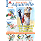 Les carnets aquarelle n°31: peindre les oiseaux du jardin à l'aquarelle (French Edition)
