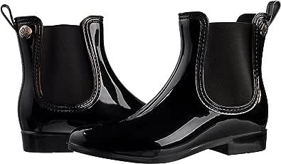Silky Toes Womens Ankle Waterproof Short Chelsea Rain Boots