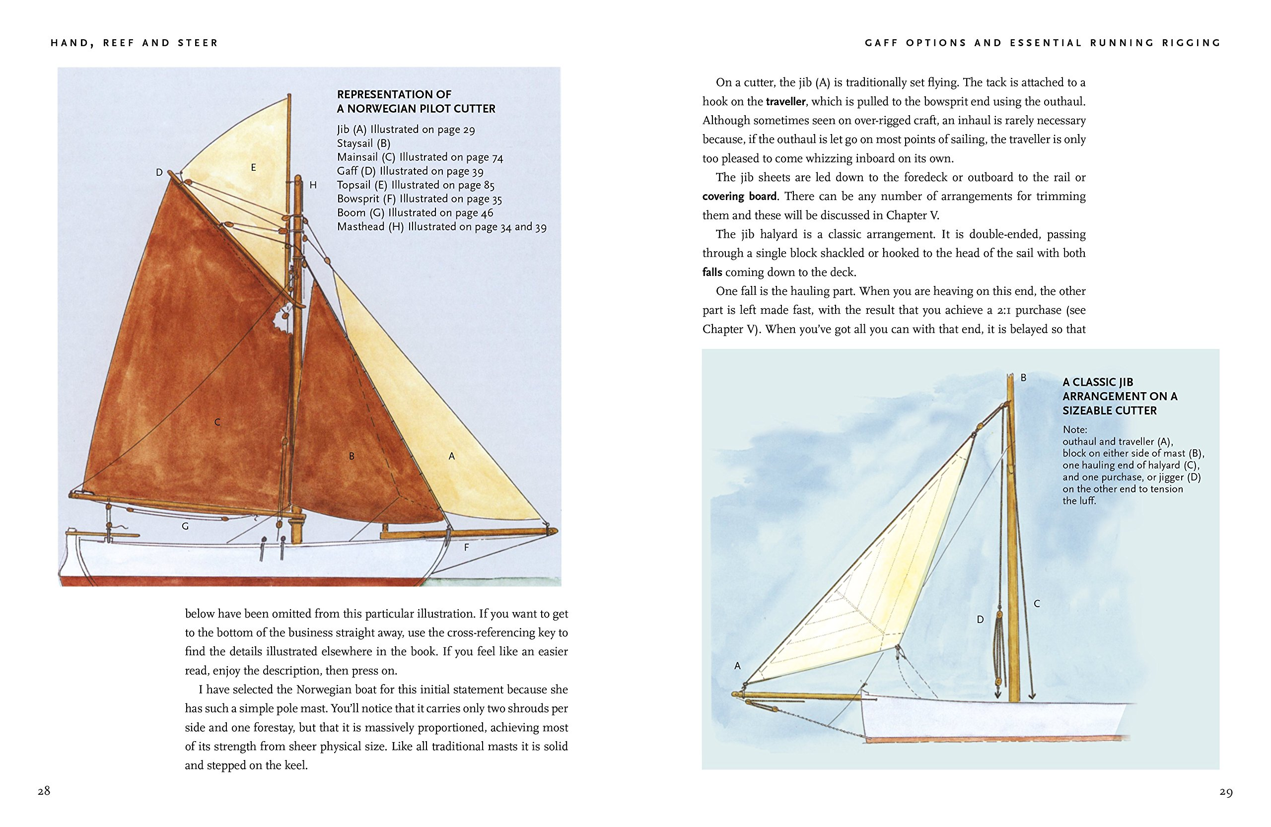 Hand, Reef and Steer 2nd edition: Traditional Sailing Skills