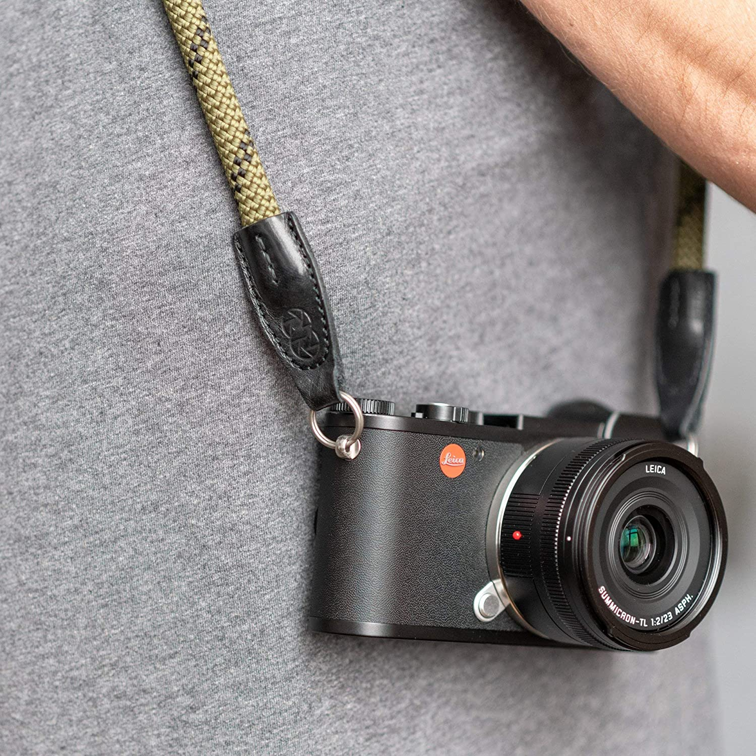 Ring 126 cm Leica Rope Strap Cooph Olive