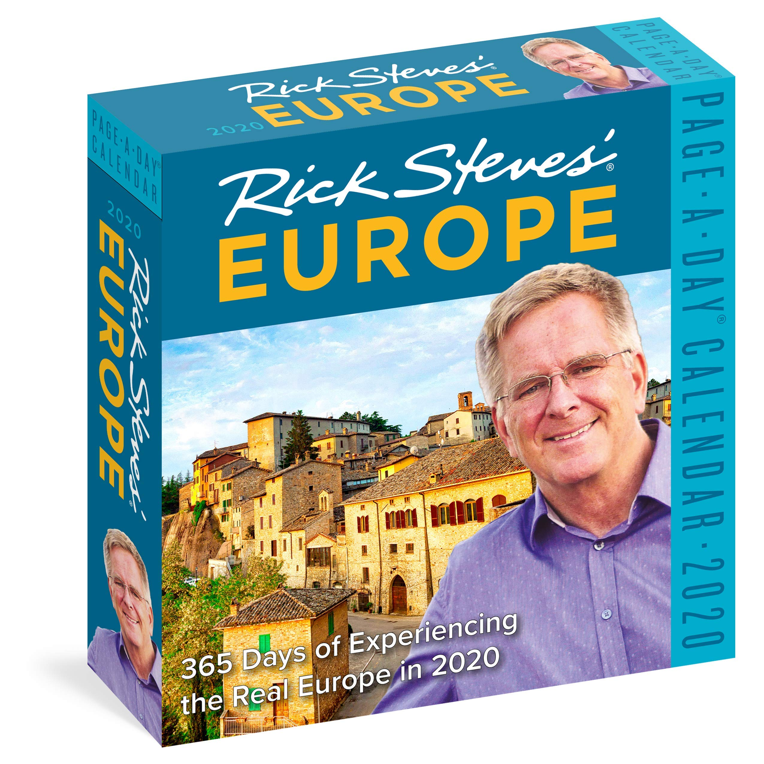 Rick Steves' Europe Page-A-Day Calendar 2020 by Workman Publishing Company