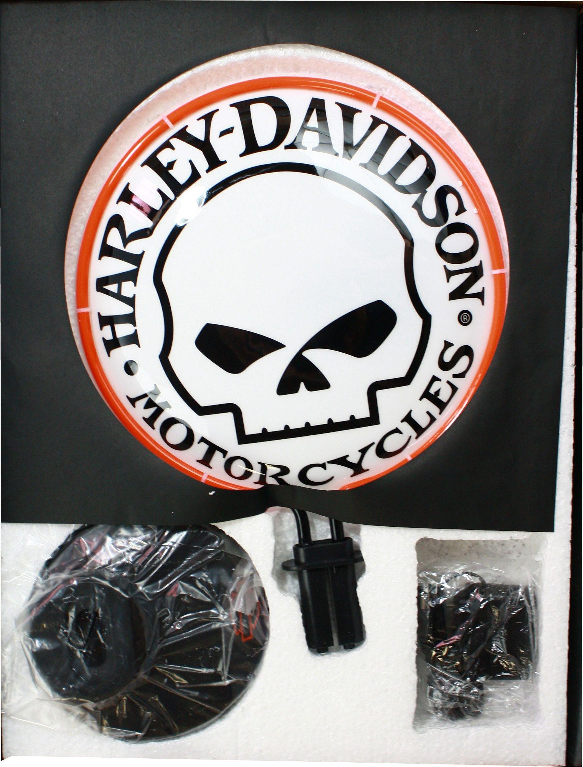 Harley-Davidson Willie G Neon Lights