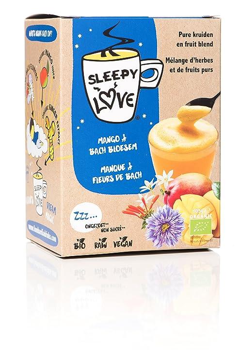 Sleepylove Tisane Pour Bien Dormir Infusion Bio Mangue Fleur De