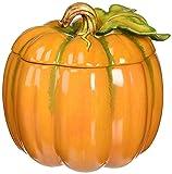 Cosmos 10365 Fine Porcelain Light Off Lid Pumpkin