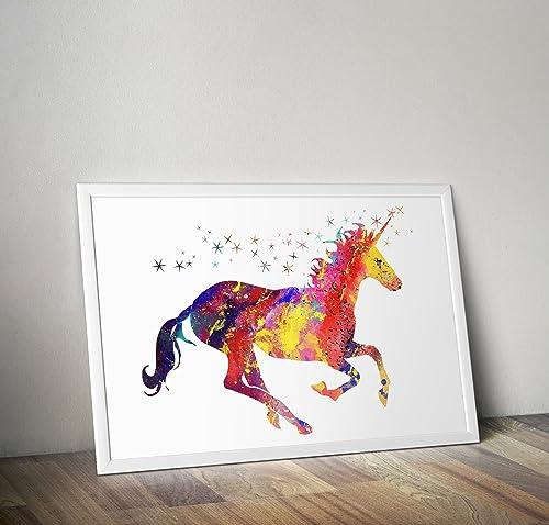 Cartel de unicornio Póster / impresión - Impresión de ...