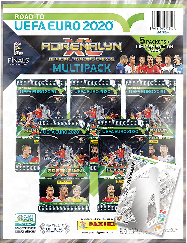 Panini 1 Road To Euro 2020 Adrenalyn XL Multipack Negro, 1: Amazon.es: Ropa y accesorios